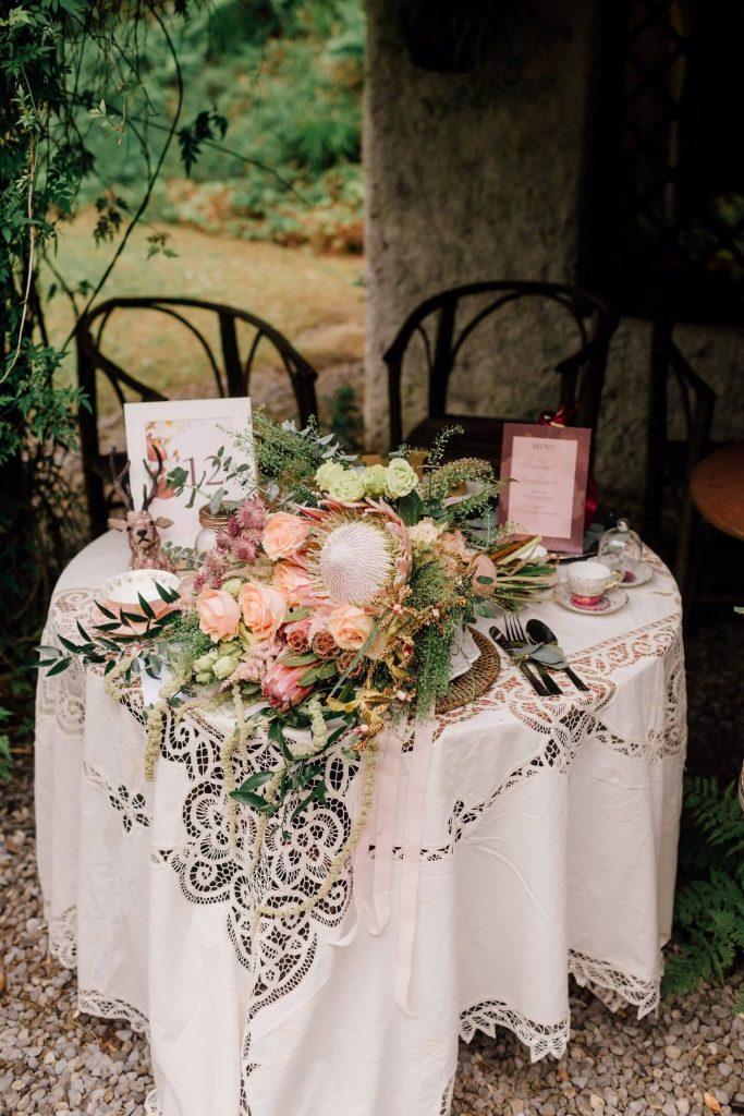 decor nunta aer liber