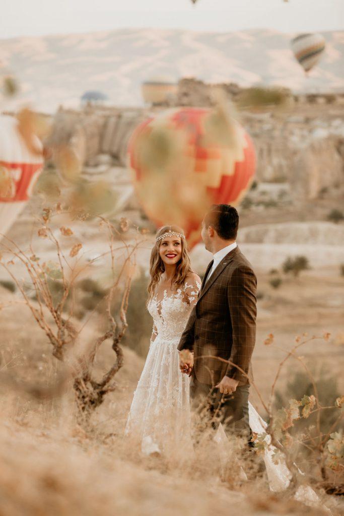 Trash the dress Cappadocia