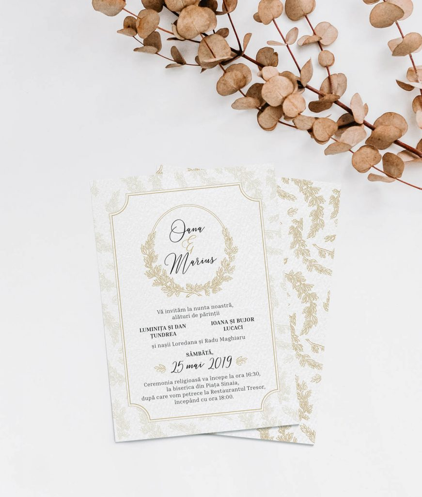 Invitatii nunta Zizula