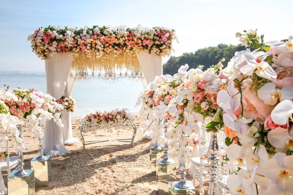 Nunta plaja exotic